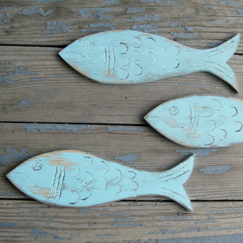 Fishy School 3 PC Set - Haven America