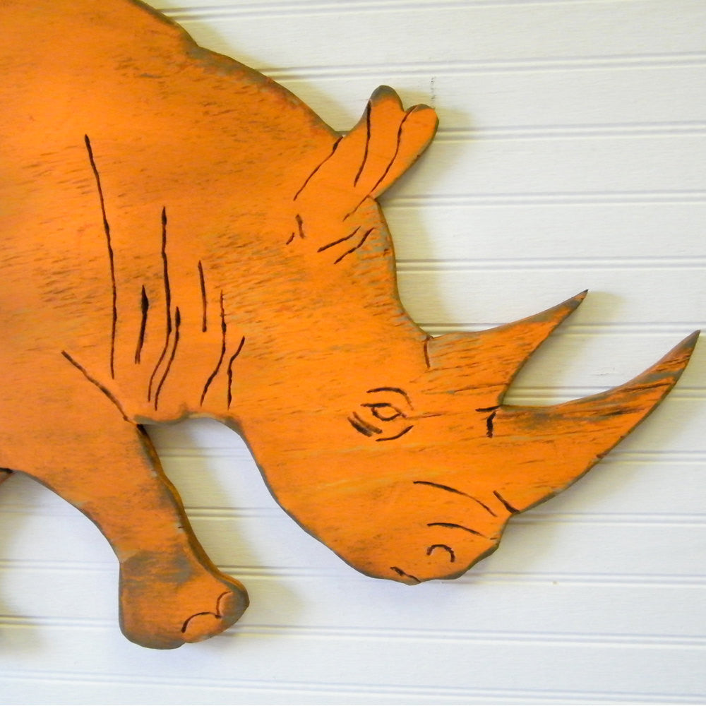 Rhino Rhinoceros Wall Art - Haven America