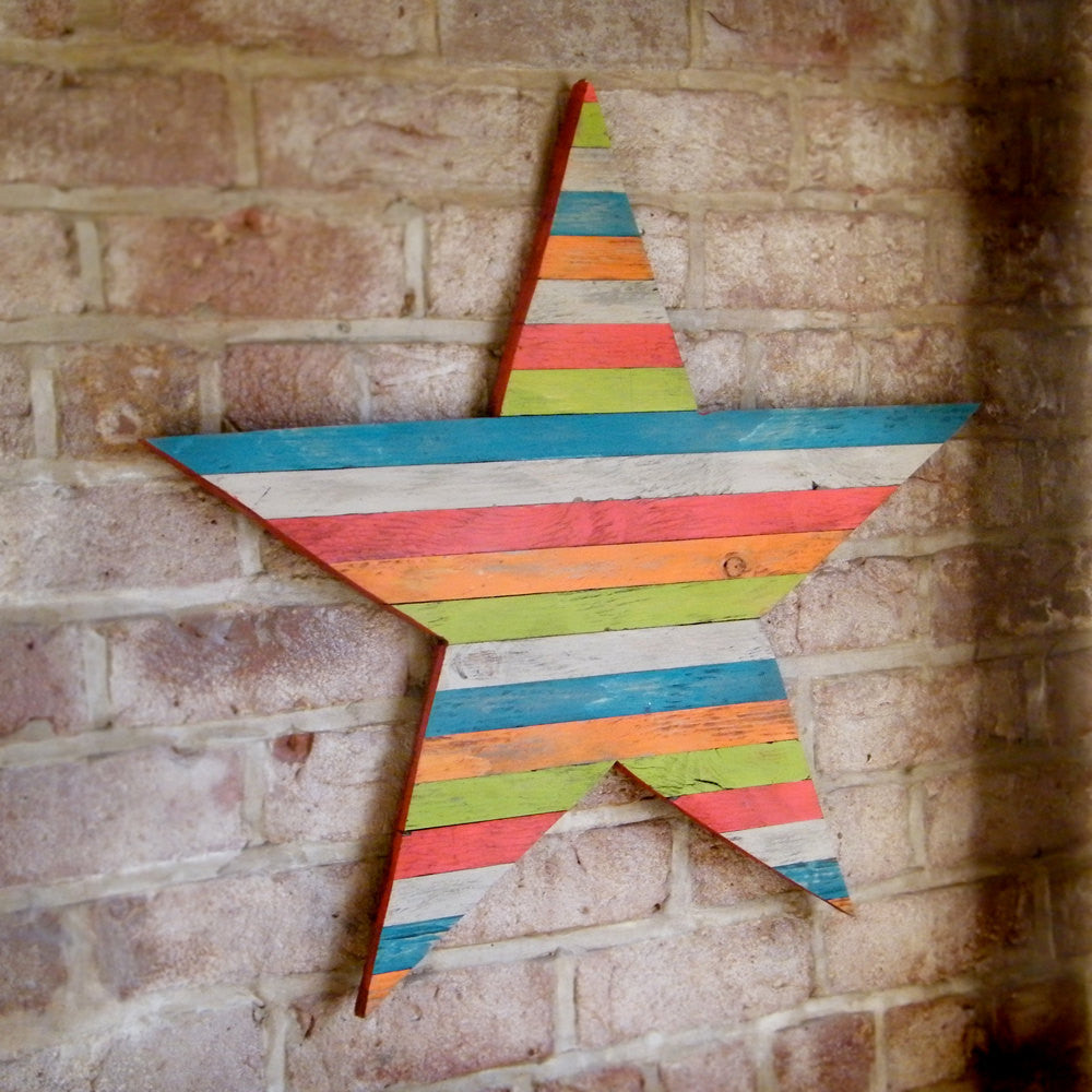 Pallet Barn Star Wall Art - Haven America