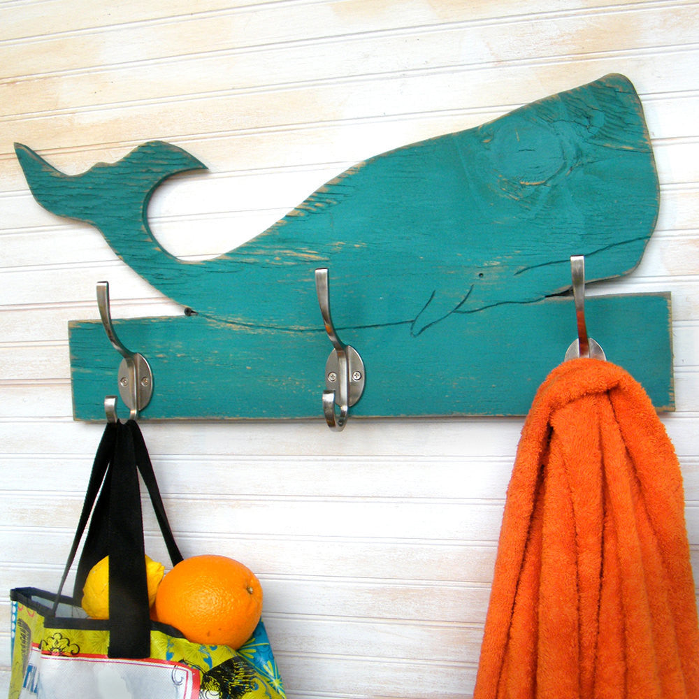 Whale Towel Hook - Haven America