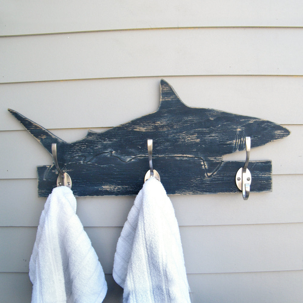 Mako Shark Towel Hook - Haven America