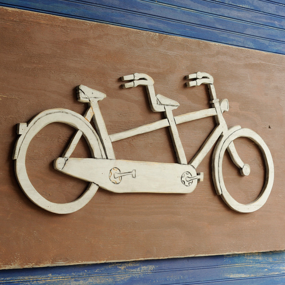 Tandem Bicycle Wall Art - Haven America
