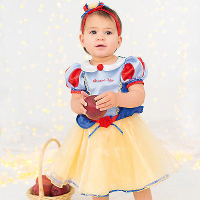 BABY DISNEY SNOW WHITE PRINCESS COSTUME