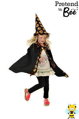GIRLS WITCH CAPE COSTUME