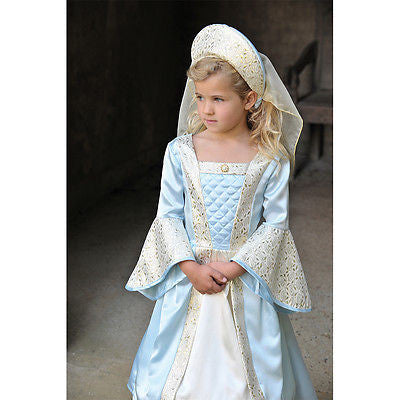 GIRLS DELUXE TUDOR LADY OR PRINCESS COSTUME