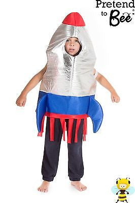 KIDS SPACE ROCKET COSTUME