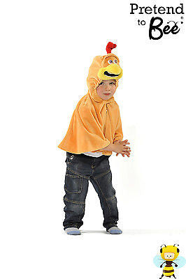 CHILDRENS CHICKEN CAPE COSTUME