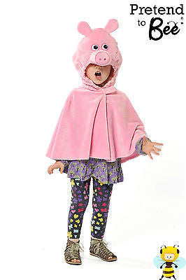 CHILDRENS PIG CAPE COSTUME
