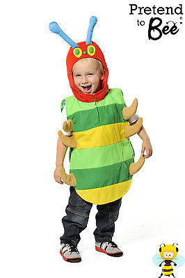 KIDS HUNGRY CATERPILLAR COSTUME