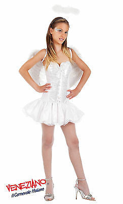 TEEN GIRL WHITE ANGEL FANCY DRESS COSTUME OUTFIT TEENAGE GIRLS TEENAGER AGE 16