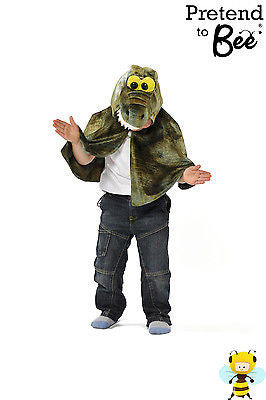 KIDS CROCODILE CAPE COSTUME