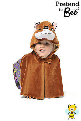 CHILDRENS FOX CAPE COSTUME