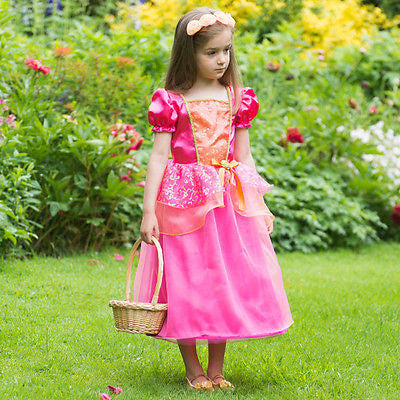 GIRLS TROPICAL PRINCESS COSTUME