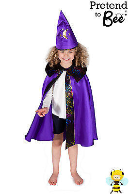 KIDS WIZARD CAPE COSTUME