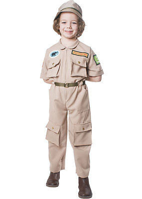 KIDS ZOO KEEPER COSTUME