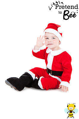 TODDLER & KIDS SANTA CLAUS COSTUME