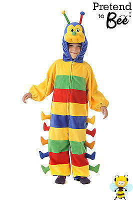 KIDS CATERPILLAR COSTUME