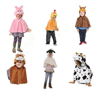 Kids Farm Animal Costume Set