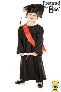 CHILDRENS DELUXE GRADUATION GOWN