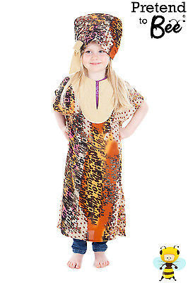 GIRLS AFRICAN LADY COSTUME
