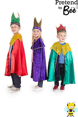 CHILDRENS WISE MAN OR KING NATIVITY COSTUME