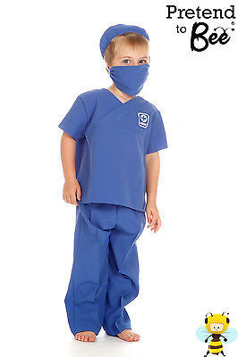 KIDS MALE NURSE OR MEDIC COSTUME