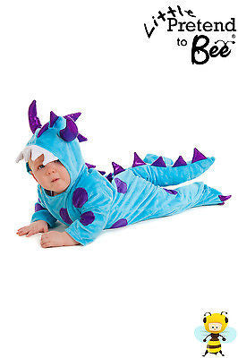 BLUE BABY MONSTER COSTUME