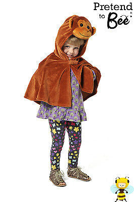 KIDS MONKEY CAPE COSTUME