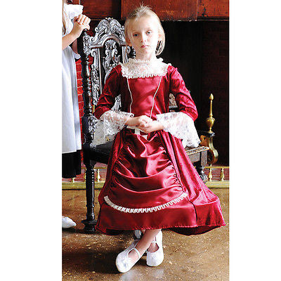 GIRLS DELUXE MISS ISABELLA VICTORIAN COSTUME