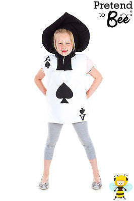 CHILDRENS PLAYING CARD COSTUME