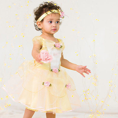 BABY DISNEY BELLE PRINCESS COSTUME