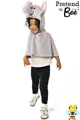 KIDS ELEPHANT CAPE COSTUME