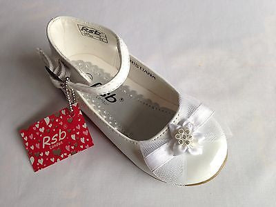 Young Girls Kids Sparkly White Party Wedding Bridesmaid Flower Girl