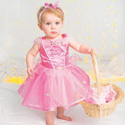 BABY DISNEY SLEEPING BEAUTY PRINCESS COSTUME