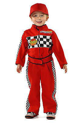KIDS RACING DRIVER COSTUME