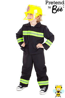 CHILDRENS FIREMAN UNIFORM COSTUME