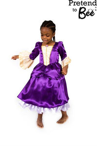 GIRLS VICTORIAN LADY DRESS COSTUME