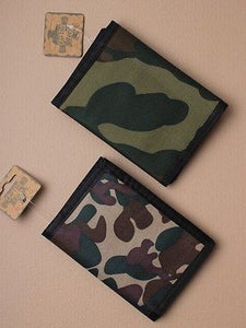 NEW BOYS CHILDRENS KIDS ARMY CAMO CAMOUFLAGE WALLET GREAT PARTY PRESENT