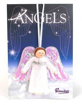 Mini Pocket Hanging Guardian Angel Worry Doll Confirmation & Holy Communion Gift