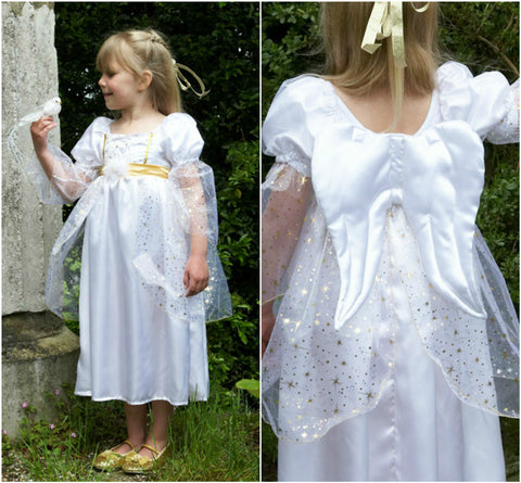 GIRLS DELUXE NATIVITY ANGEL COSTUME