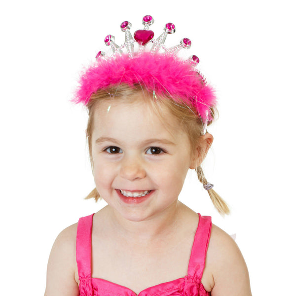 GIRLS PINK PRINCESS TIARA
