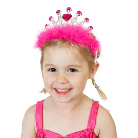 CROWN JEWELS PINK PRINCESS TIARA