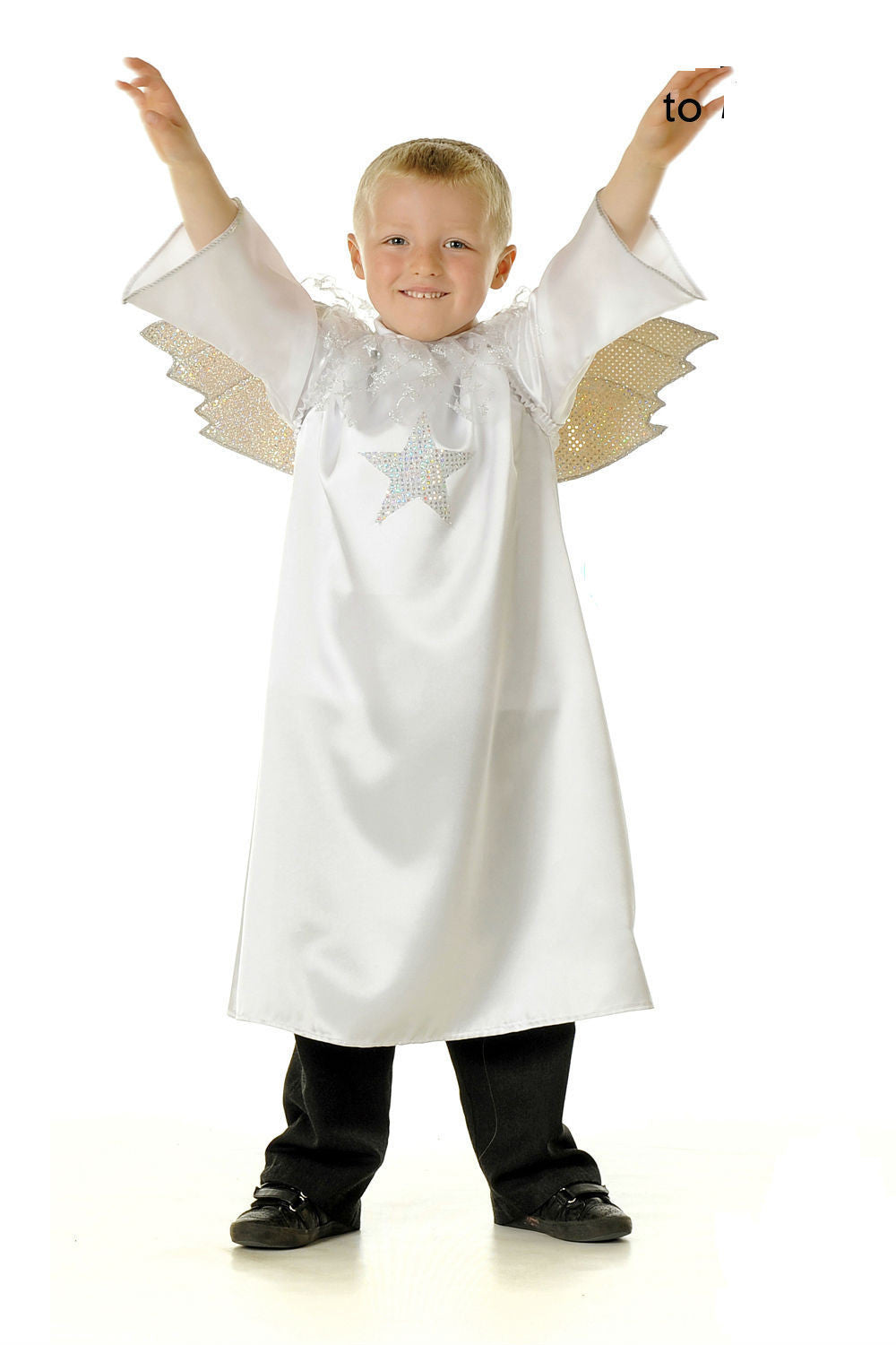 CHILDRENS NATIVITY ANGEL COSTUME