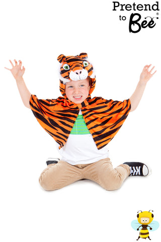 KIDS TIGER CAPE COSTUME