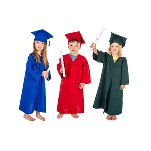 KIDS GRADUATION GOWN COSTUME