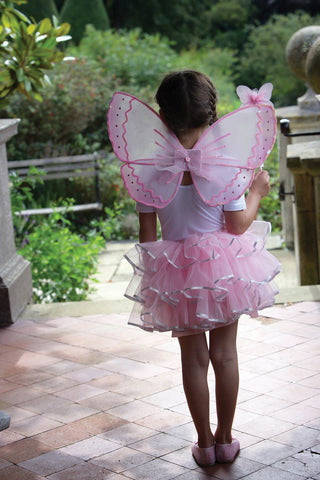 GIRLS CANDY FLOSS FAIRY COSTUME SET