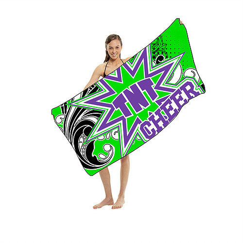 TNT Cheer Shammy Beach Towel