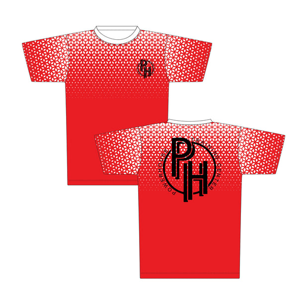 Powerhouse TNT Athletic Tee in Red