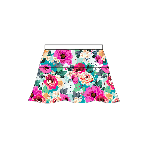 Grand Cheer Floral Darling Skirt