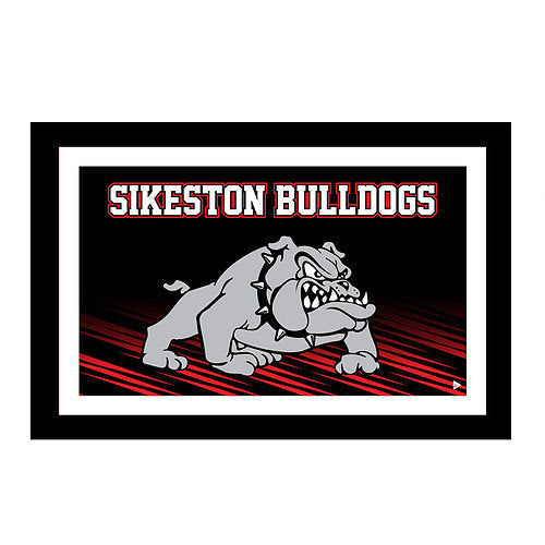 Sikeston Bulldogs Large Blanket